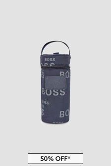 Boss Kidswear Baby Navy Bottle Holder