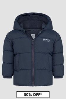 Boss Kidswear Baby Boys Navy Jacket