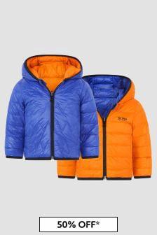Boss Kidswear Baby Boys Blue Jacket