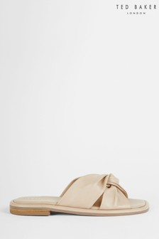 Ted Baker Pebba Soft Leather Flat Sandals