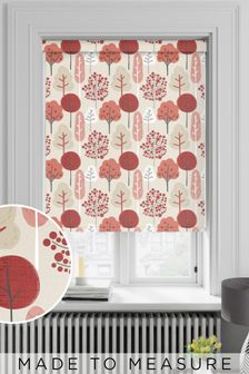 Red Park Life Made To Measure Roller Blind