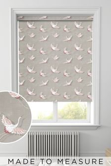 Red Sommer Made To Measure Roller Blind