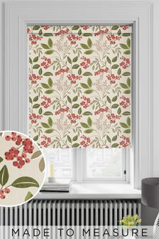 Red Berries Made To Measure Roller Blind