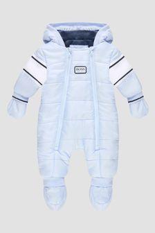 Boss Kidswear Baby Boys Blue Snow Suit
