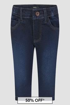 Boss Kidswear Baby Boys Blue Jeans