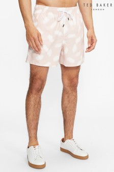Ted Baker Mitchll Smudge Printed Swim Shorts