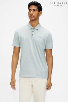 Ted Baker Distanc Slub Polo Shirt