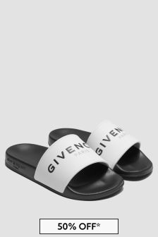 Givenchy Kids White Sandals