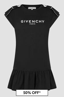 Givenchy Kids Girls Black Dress