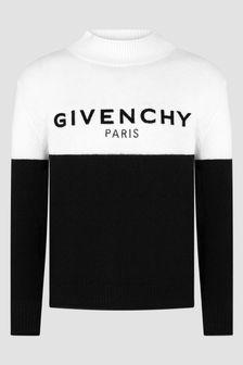 Givenchy Kids Black Jumper