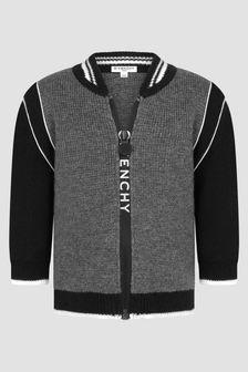 Givenchy Kids Baby Boys Black Cardigan