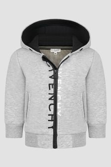 Givenchy Kids Baby Boys Grey Sweat Top