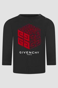 Givenchy Kids Baby Boys Black T-Shirt