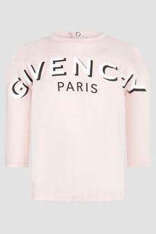 Givenchy Kids Baby Girls Pink T-Shirt