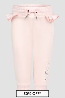 Givenchy Kids Baby Girls Pink Joggers