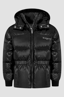 Givenchy Kids Girls Black Jacket