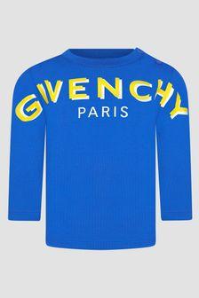 Givenchy Kids Baby Boys Blue T-Shirt
