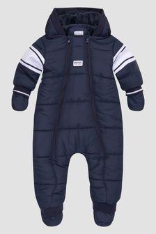 Boss Kidswear Baby Boys Navy Snow Suit
