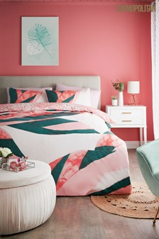 Cosmopolitan Miami Duvet Cover and Pillowcase Set