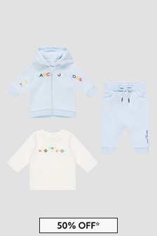 Marc Jacobs Baby Boys Blue Tracksuit