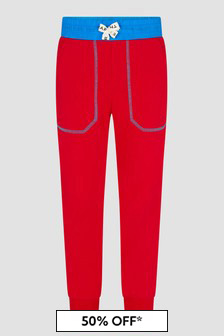 Marc Jacobs Boys Red Joggers