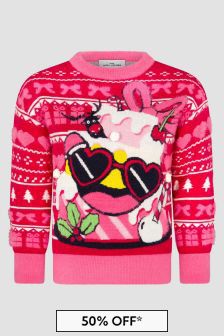 Marc Jacobs Girls Red Jumper