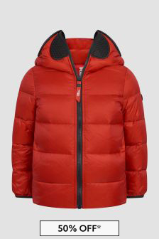 Ai Riders On The Storm Kids Red Jacket