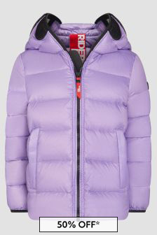 Ai Riders On The Storm Girls Purple Jacket