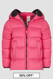 Ai Riders On The Storm Pink Girls Pink Jacket