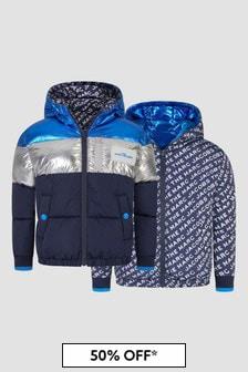 Marc Jacobs Boys Navy Reversible Jacket