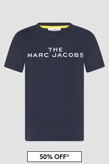 Marc Jacobs Boys Navy T-Shirt