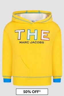Marc Jacobs Boys Yellow Hoodie