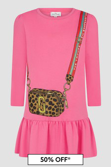 Marc Jacobs Girls Pink Dress