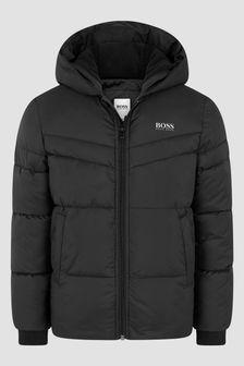 Boss Kidswear Boys Black Jacket