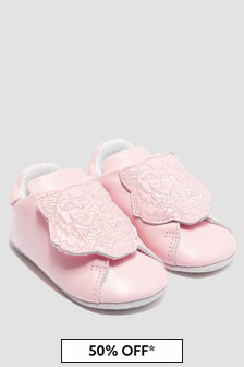 Kenzo Kids Baby Girls Pink Shoes