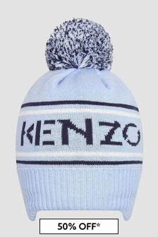Kenzo Kids Baby Boys Blue Hat