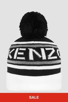 Kenzo Kids Unisex Black Hat
