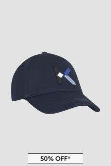 Kenzo Kids Navy Hat