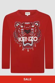 Kenzo Kids Boys Red T-Shirt