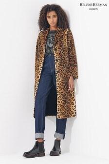 Helene Berman Leopard Coat