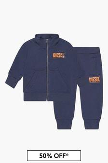 Diesel Baby Boys Navy Tracksuit