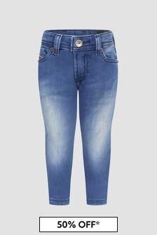 Diesel Baby Boys Blue Jeans