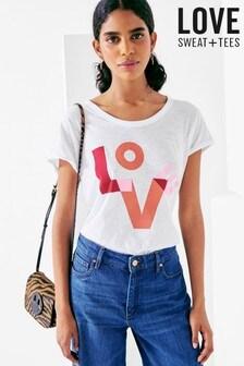 Love Sweat and Tees Slogan T-Shirt