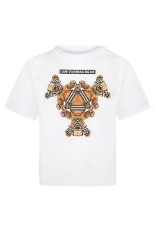 Burberry Kids White T-Shirt