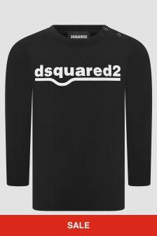 Dsquared2 Kids Boys Black T-Shirt