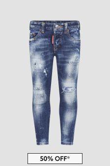 Dsquared2 Kids Boys Blue Jeans