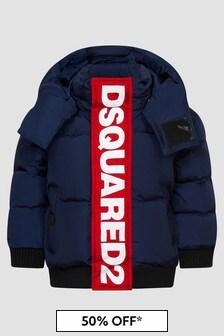 Dsquared2 Kids Baby Boys Navy Jacket