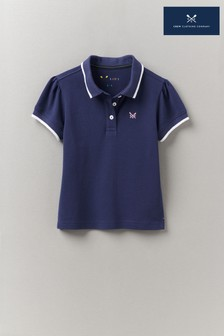 Crew Clothing Company Classic Pique Puff Sleeve Polo