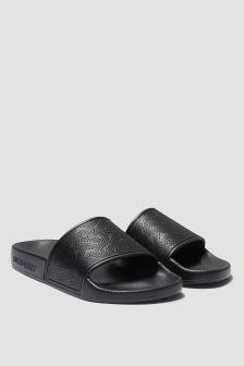 Burberry Kids Unisex Black Sandals