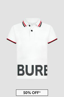 Burberry Kids Boys Polo Shirt